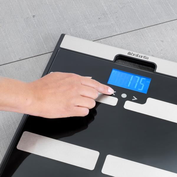 Waga z pomiarem tkanki tłuszczowej