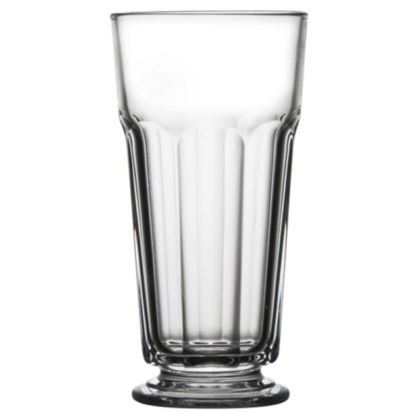Nowość-6szt szklanek do latte na stopce 350ml