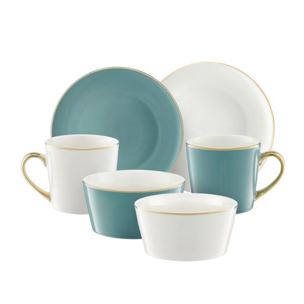Komplet porcelany